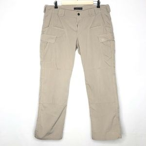 5.11 Tactical Pants Size Womens Creme Tan Cargo